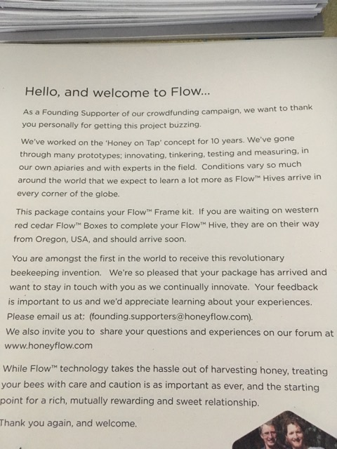Flow Hives Information