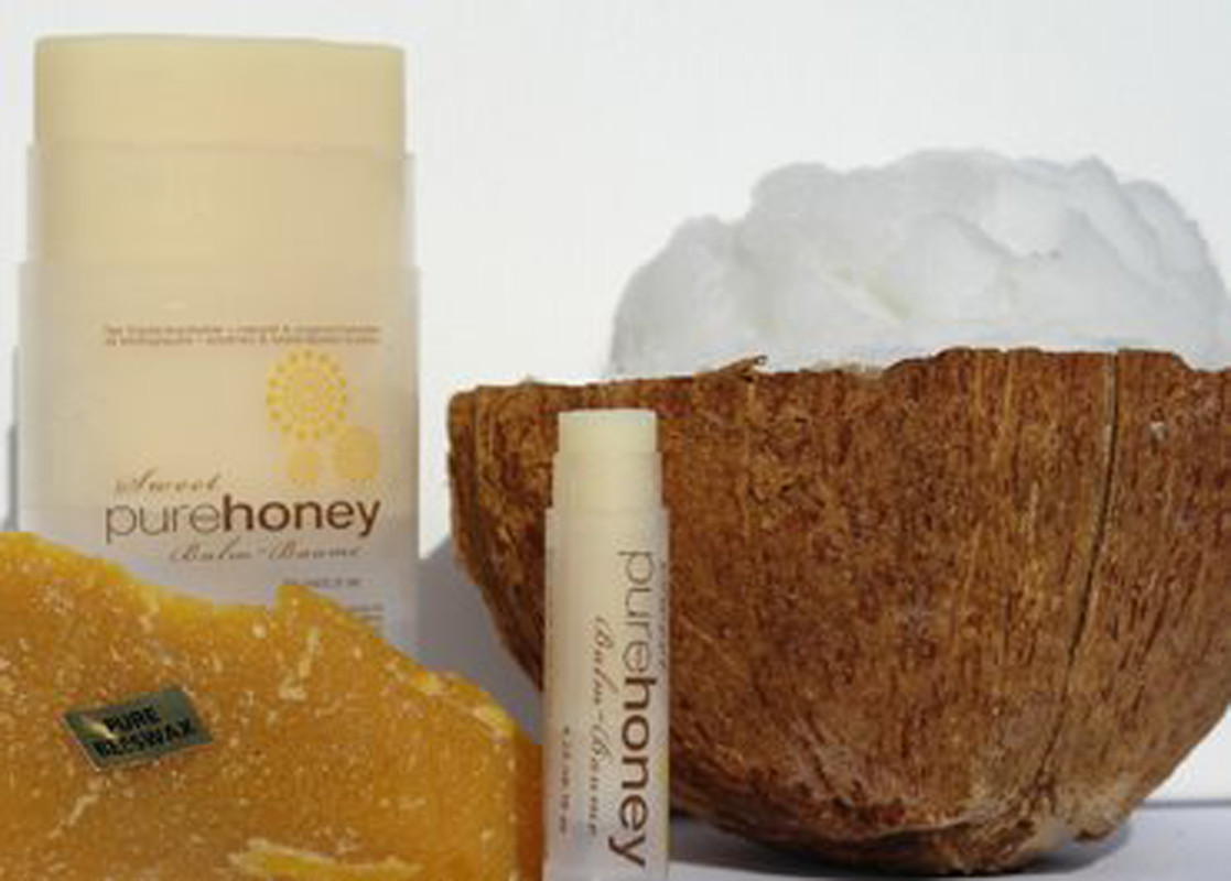 Sweet Pure Honey Body Balm and Lip Balm Combo Pack