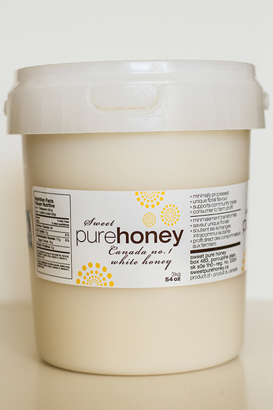 Sweet Pure Honey 3kg Pail